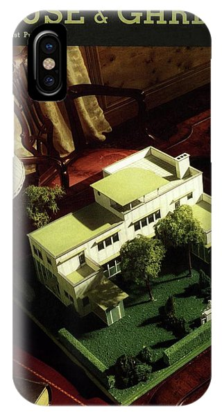 A House And Garden Cover Of A Model House IPhone Case