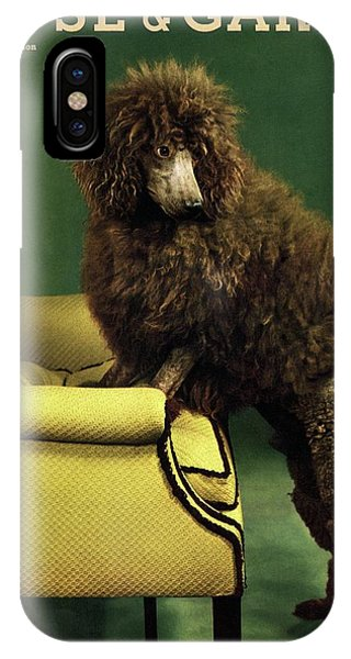 A House And Garden Cover Of A Poodle IPhone Case