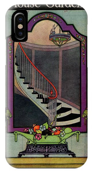 A House And Garden Cover Of A Staircase IPhone Case