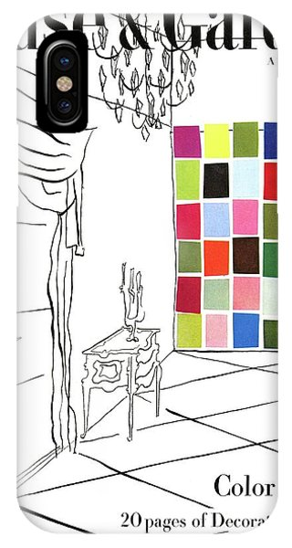 A House And Garden Cover Of Color Swatches IPhone Case