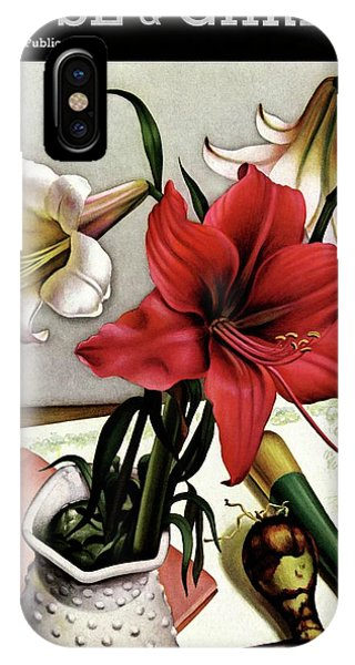 A House And Garden Cover Of Lilies IPhone Case