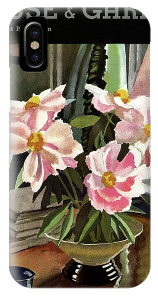 A House And Garden Cover Of Rhododendrons IPhone Case