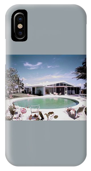 A House In Miami IPhone Case