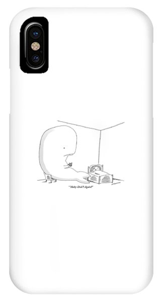 A Huge Whale Reads His Child Also A Whale Moby IPhone Case