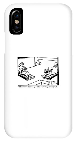 A Husband And Wife Recline Next To Their Pool IPhone Case