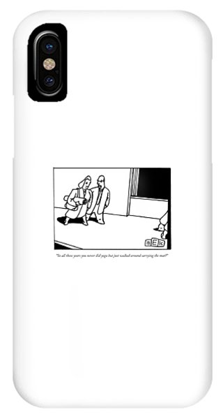 A Husband Says To His Wife IPhone Case