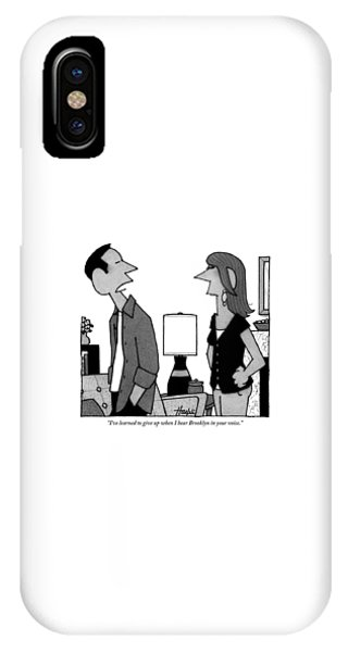 A Husband To His Wife IPhone Case