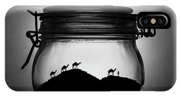Caravan iPhone Case - A Jar Of Sugar Sand by Victoria Ivanova