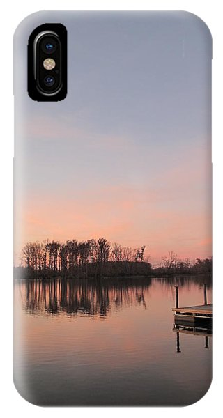 A Jetty Into Crab Orchard Lake IPhone Case