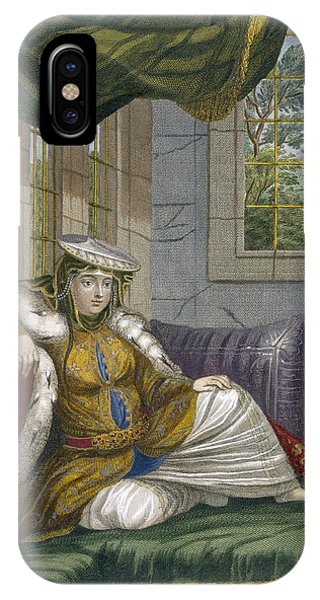 A Jewish Woman In Ceremonial Dress IPhone Case