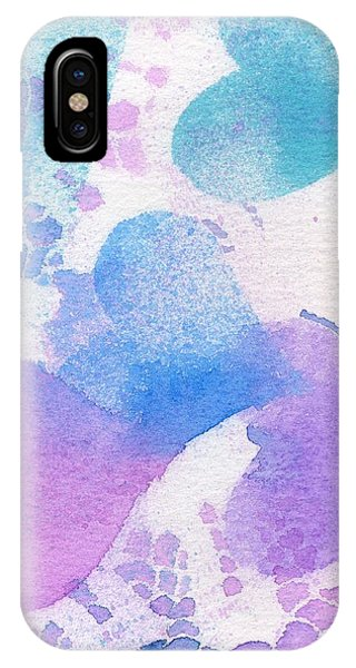 A Lace Of Hearts. IPhone Case