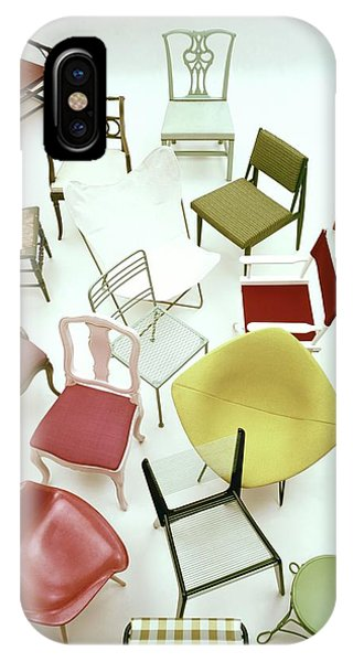 A Large Group Of Chairs IPhone Case