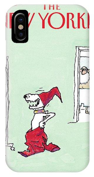 A Laugh On Santa IPhone Case