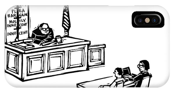 A Lawyer Says To Her Client IPhone Case