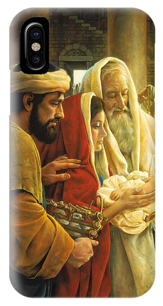 Temple iPhone Case - A Light To The Gentiles by Greg Olsen