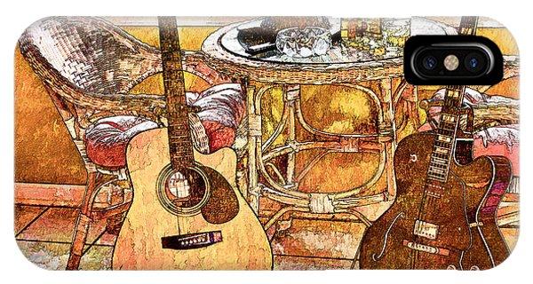 A Little Bit Country-a Little Bit Blues IPhone Case