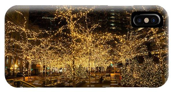 A Little Golden Garden In The Heart Of Manhattan New York City IPhone Case