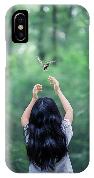 Departure iPhone Case - A Little More by Takashi Suzuki
