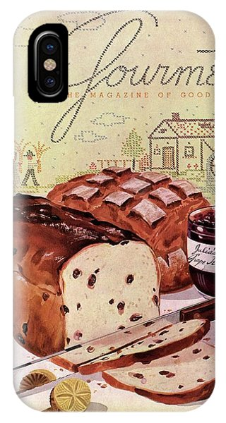 A Loaf Of Raisin Bread IPhone Case