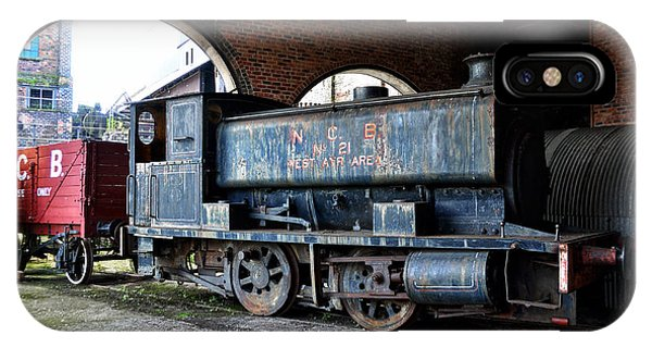 A Locomotive At The Colliery IPhone Case