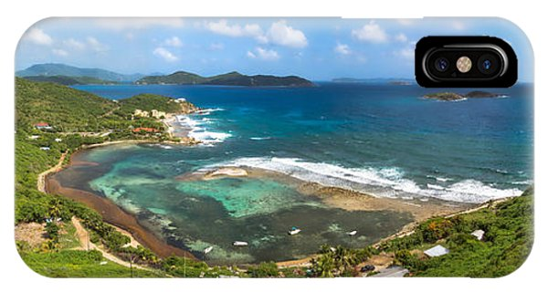 John's Folly Bay From Tradewinds Cottage In St. John Usvi IPhone Case