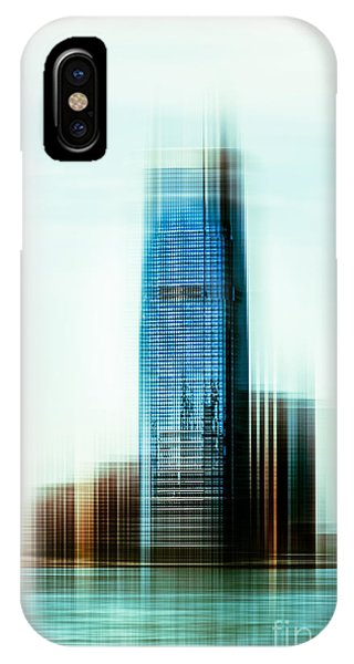 A Look To New Jersey II - Steel IPhone Case
