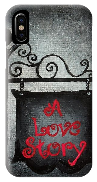A Love Story No 10 IPhone Case
