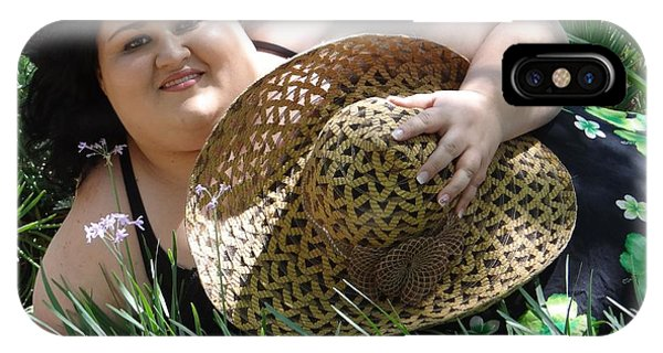 A Lovely Hat Phone Case by Ernestine Manowarda