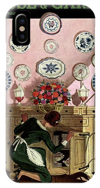 A Maid Getting China From A French Provincial IPhone Case