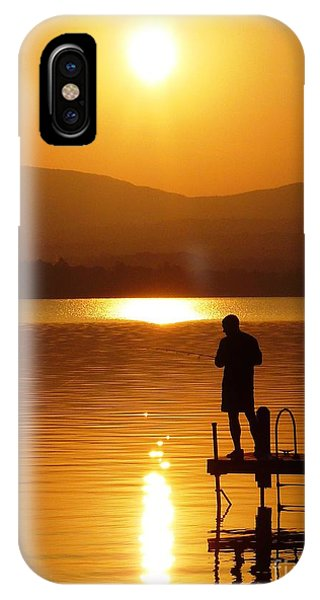 A Man And His Thoughts  IPhone Case