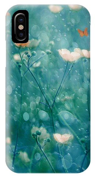 Soft iPhone Case - A Memory Of June by Delphine Devos