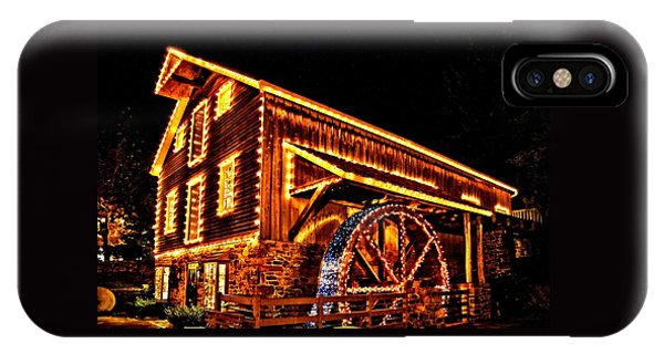 A Mill In Lights IPhone Case