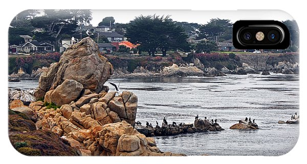 A Misty Day At Pacific Grove IPhone Case