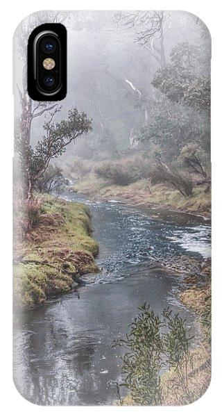 A Misty Morning In Bridgetown IPhone Case