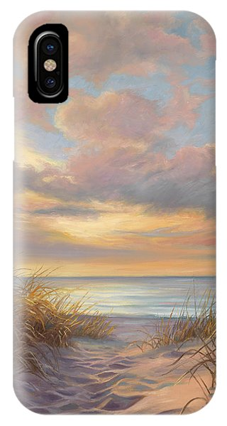 Sea iPhone X Case - A Moment Of Tranquility by Lucie Bilodeau