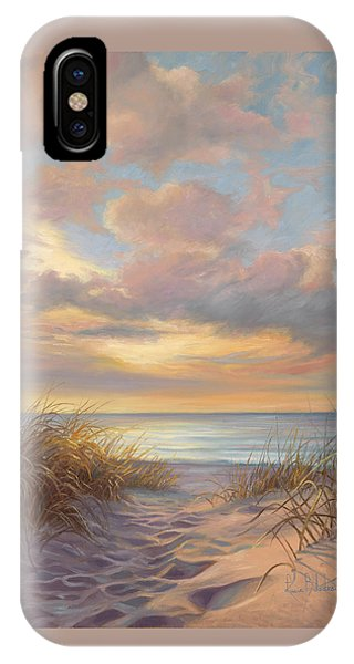 Sunset iPhone Case - A Moment Of Tranquility by Lucie Bilodeau