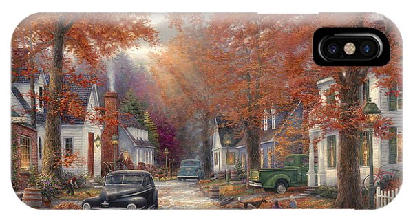 1950s iPhone Case - A Moment On Memory Lane by Chuck Pinson