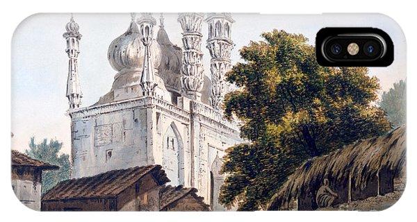British Empire iPhone Case - A Mosque At Gazipoor by William Hodges