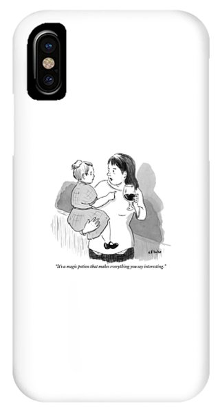 A Mother Explains To Her Young Daughter Who IPhone Case