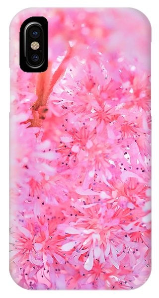 A Natural Pink Bouquet IPhone Case