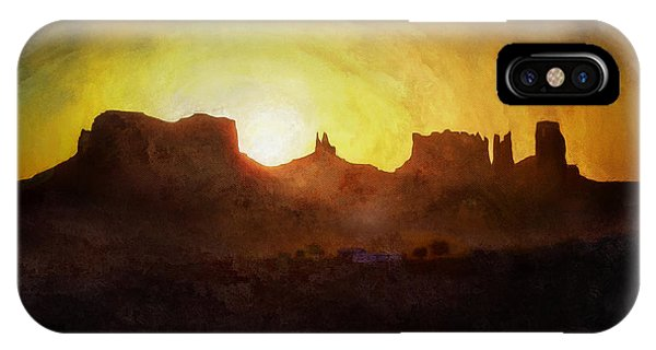 A New Day - Monument Valley IPhone Case