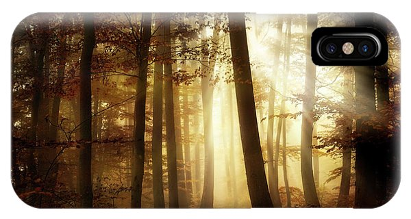 Morning iPhone Case - A New Day by Norbert Maier