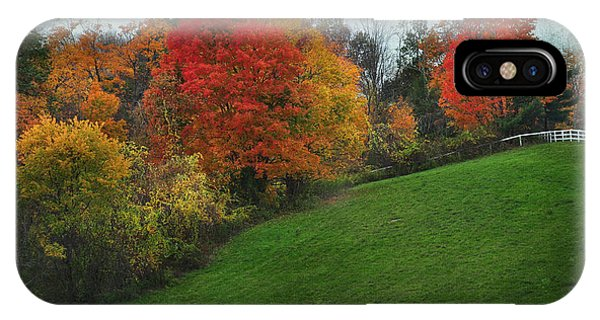 A New England Autumn IPhone Case