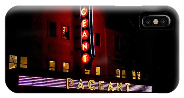 A Night At The Pageant IPhone Case