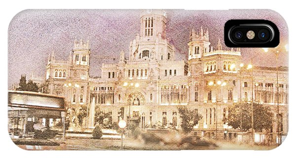 A Night In Madrid  IPhone Case