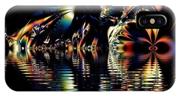 A Night On The Water IPhone Case
