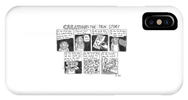 A Panel Called Creation: The True Story Which IPhone Case