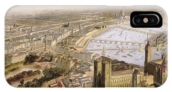 A Panoramic View Of London IPhone Case
