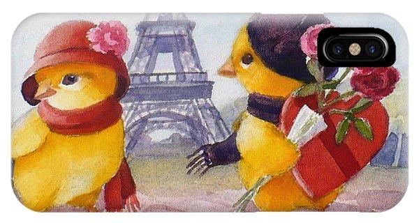 A Paris Valentine IPhone Case