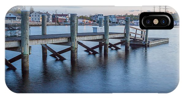 A Peaceful Dock -  Mystic Ct IPhone Case